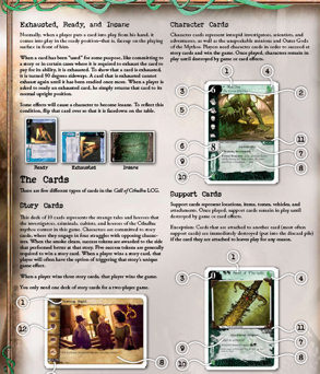 Review: Call of Cthulhu - The Card Game (LCG) Core Set (6/6)