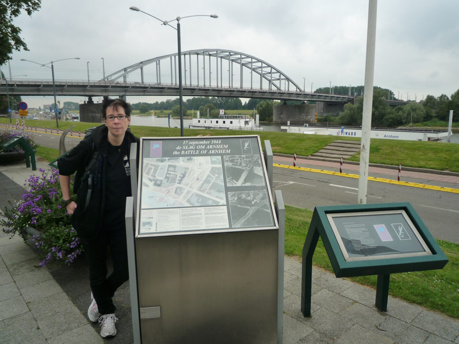 Visiting battlefields: The Bridge of Arnhem - Operation Market Garden (1/6)