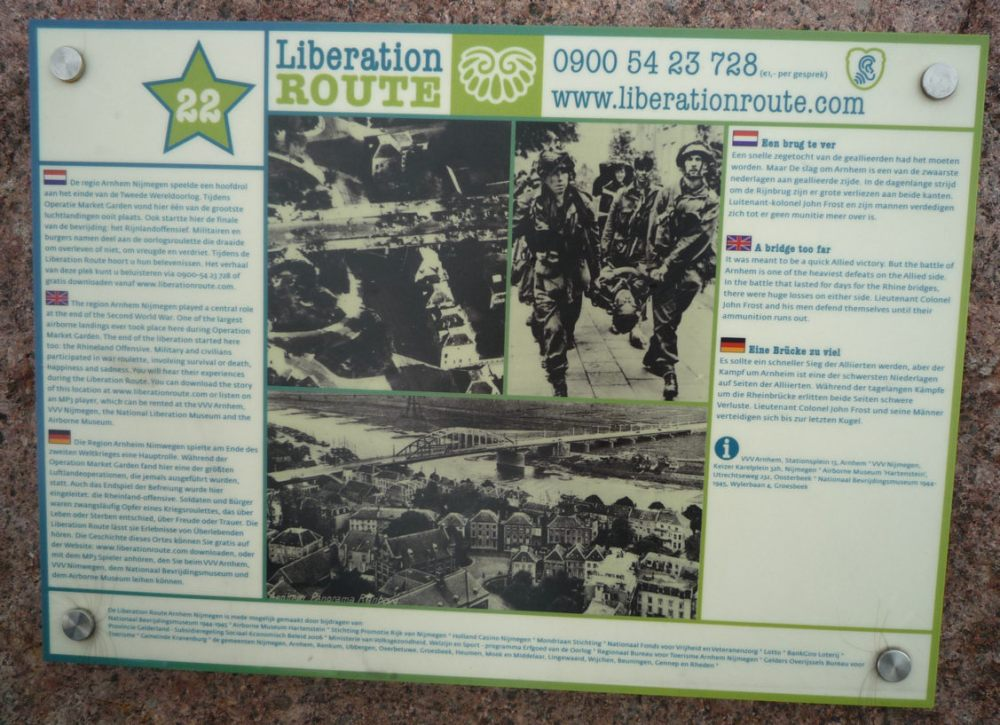 Visiting battlefields: The Bridge of Arnhem - Operation Market Garden (3/6)