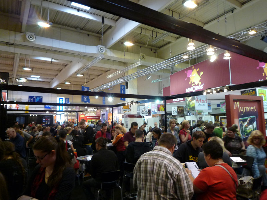 HFC on Tour: Spiel 2012 in Essen, the world's biggest consumer fair for gaming (1/6)