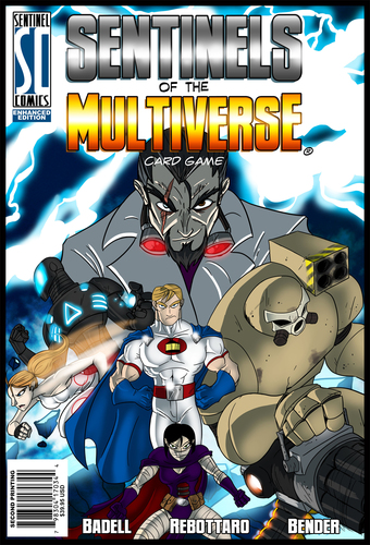 Review: Sentinels of the Multiverse (Enhanced Edition, Greater Than Games, LLC) (1/6)