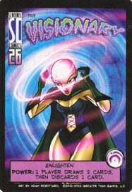 The Visionary is a support / control character in SotM