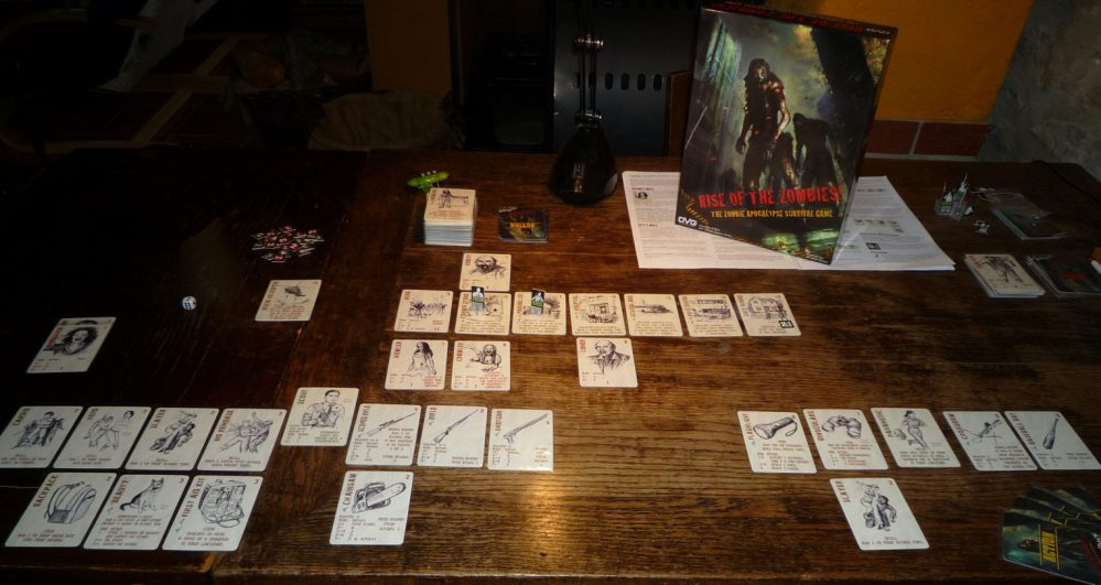 Review: Rise of the Zombies - The Zombie Apocalypse Survival Game (DVG) (5/6)