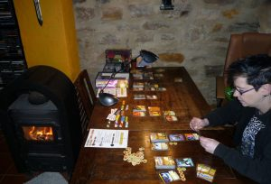 Some table space is required, especially with 3 or more players