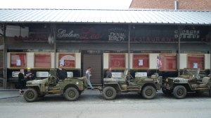 Crossroads town Bastogne is certainly the noisiest and busiest place in the Ardennes