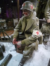 The medics of the 101st Airborne play an important role in the museum