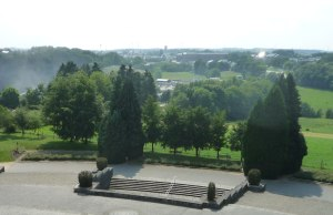 The view from the monument is great. Here: Bastogne