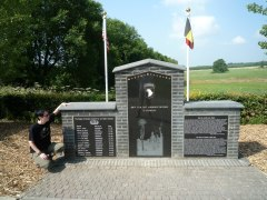 Easy Company Memorial near Foy at Jack's Wood