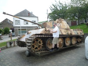 "The German tank ""Panther G"""