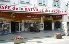 "The ""Museé de la Bataille des Ardennes"" has many exhibit items about the British  forces in the Battle of the Bulge"
