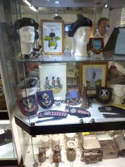 Scottish, English, and even Welsh troops play an important role in this museum