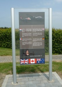 Lancaster Memorial near Weiswampach